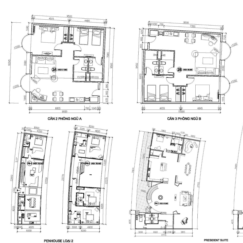 FLC Condotel Hạ Long Thiết kế căn hộ
