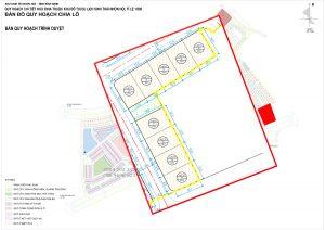 Bản đồ quy hoạch Lux City Quy Nhơn BT17, BT18