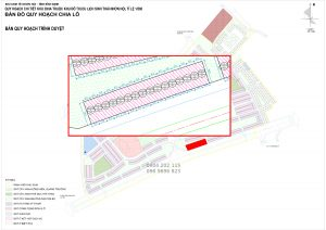 Bản đồ quy hoạch Lux City Quy Nhơn Liền Kề 47