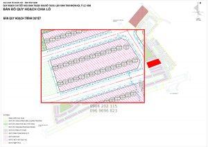 Bản đồ quy hoạch Lux City Quy Nhơn Liền Kề 55