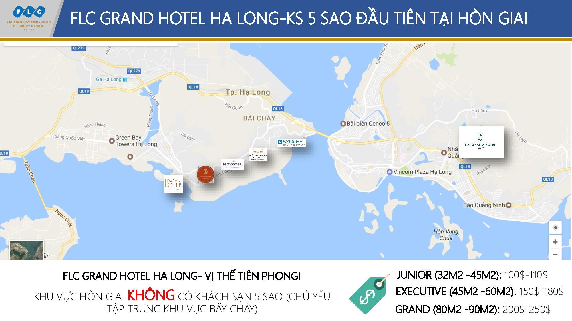 Khách sạn 5 sao đầu tiên tại Hòn Gai